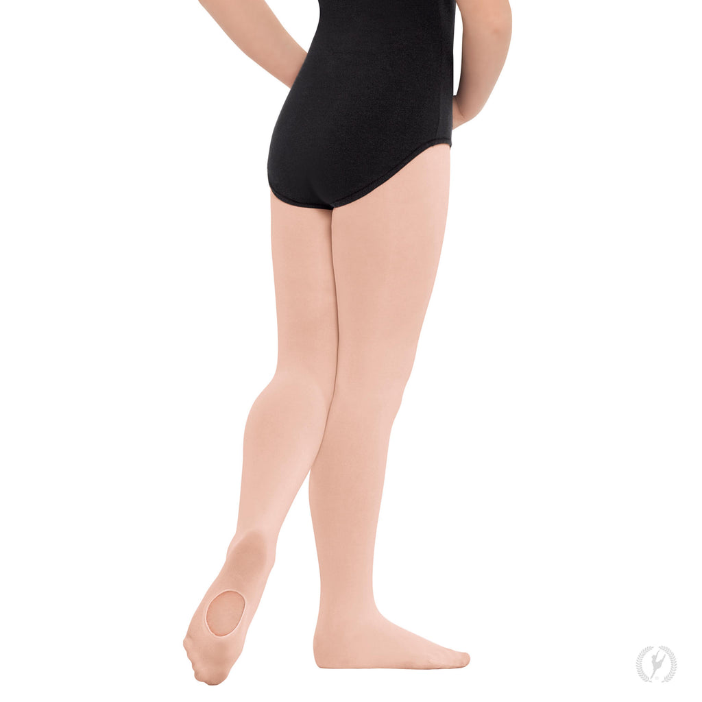 Eurotard 210c Non-Run Convertible Tights in Theatrical Pink sold by Dance Fashions Superstore in Roswell, Georgia. Dance Tights in Theatrical Pink for Girls.