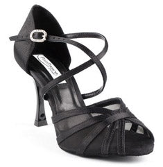 "Portdance PD807 Pro 3"" Heel Satin Ballroom Shoes"