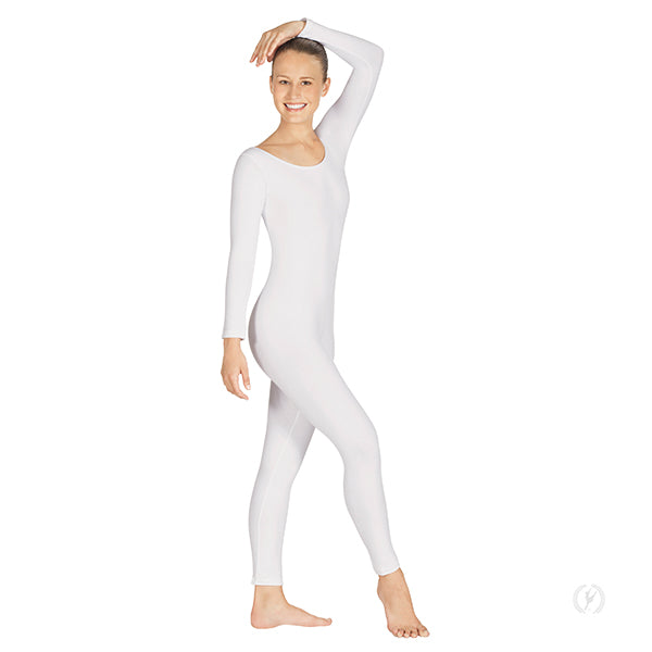Adult Microfiber Scoop Neck Long Sleeve Unitard - Eurotard 44129