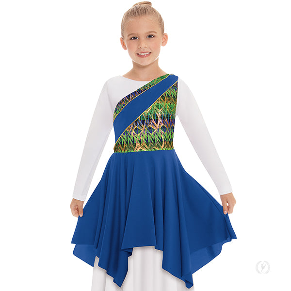 Joyful Praise Asymmetrical Tunic - Eurotard 63567C