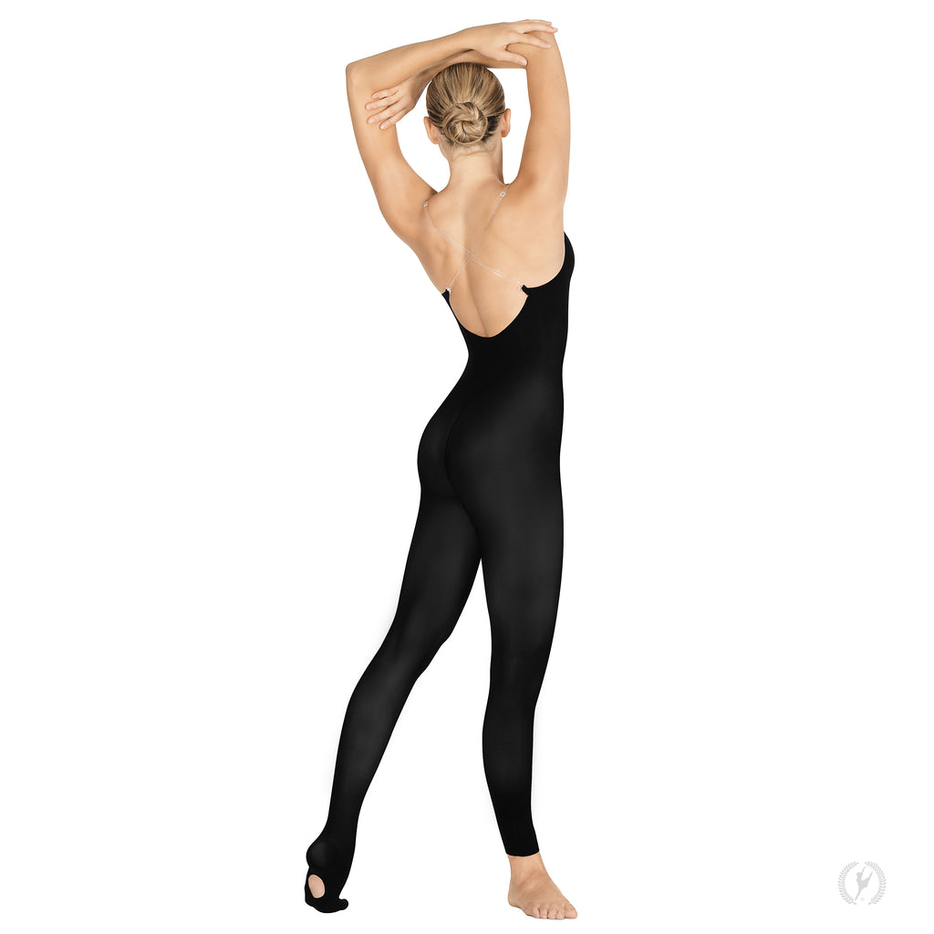 Eurotard 95705 Adult Heavyweight Body Tights with Convertible Foot by EuroSkins
