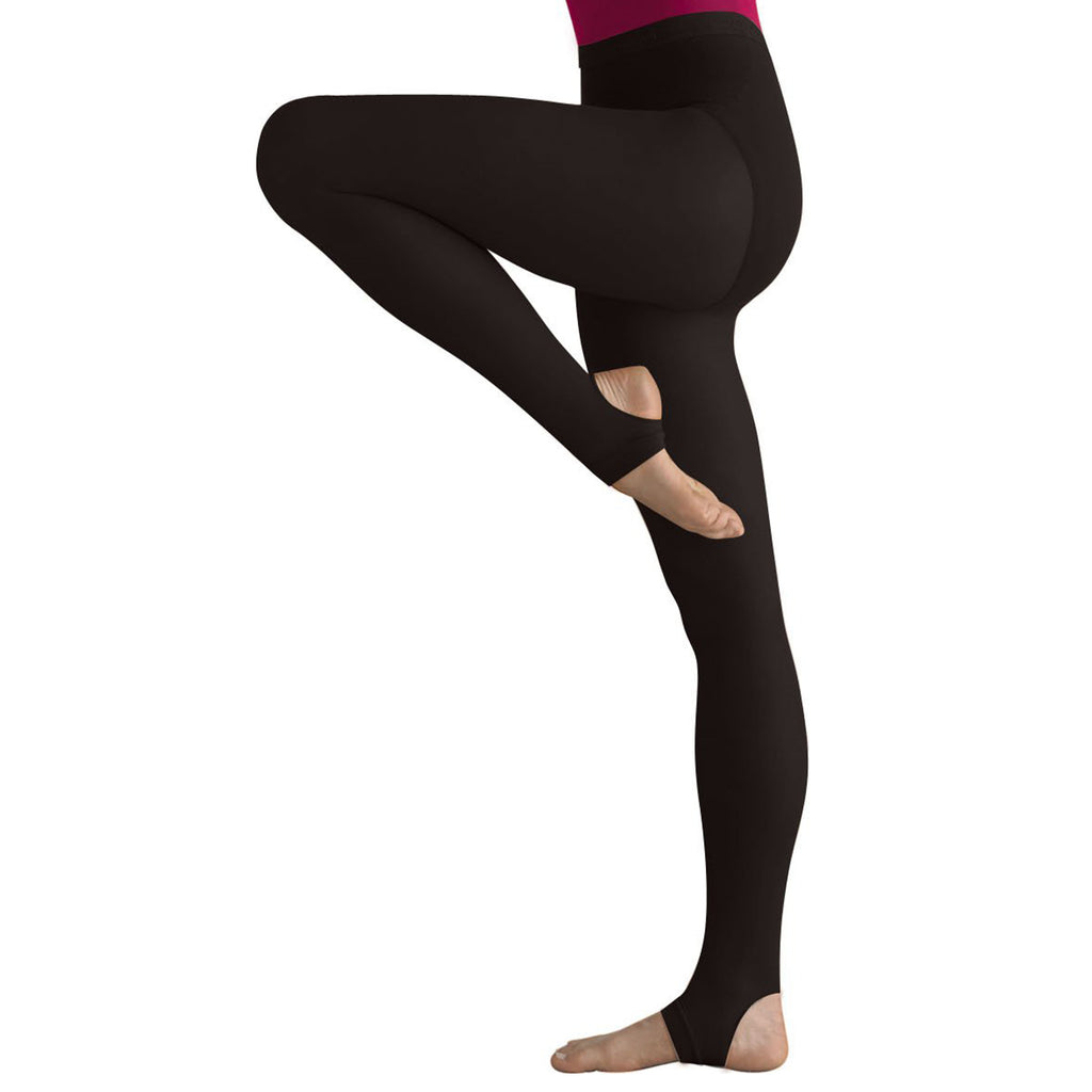 Body Wrappers A32 totalSTRETCH Soft Supplex/Lycra Stirrup Tights - 3 Pack