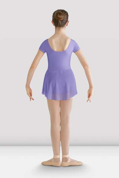 Bloch CL8262 Child Prisha Classic Short Sleeve Leotard Dress