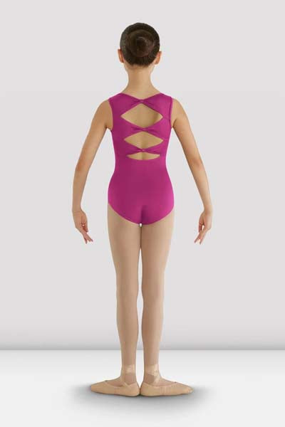 Bloch CL8835 Gladiolus Bow Back Tank Leotard