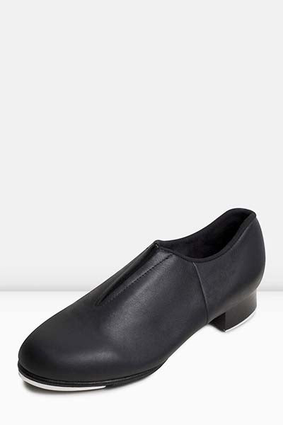 Bloch S0389L Ladies Tap-Flex Slip-on Tap Shoes black color