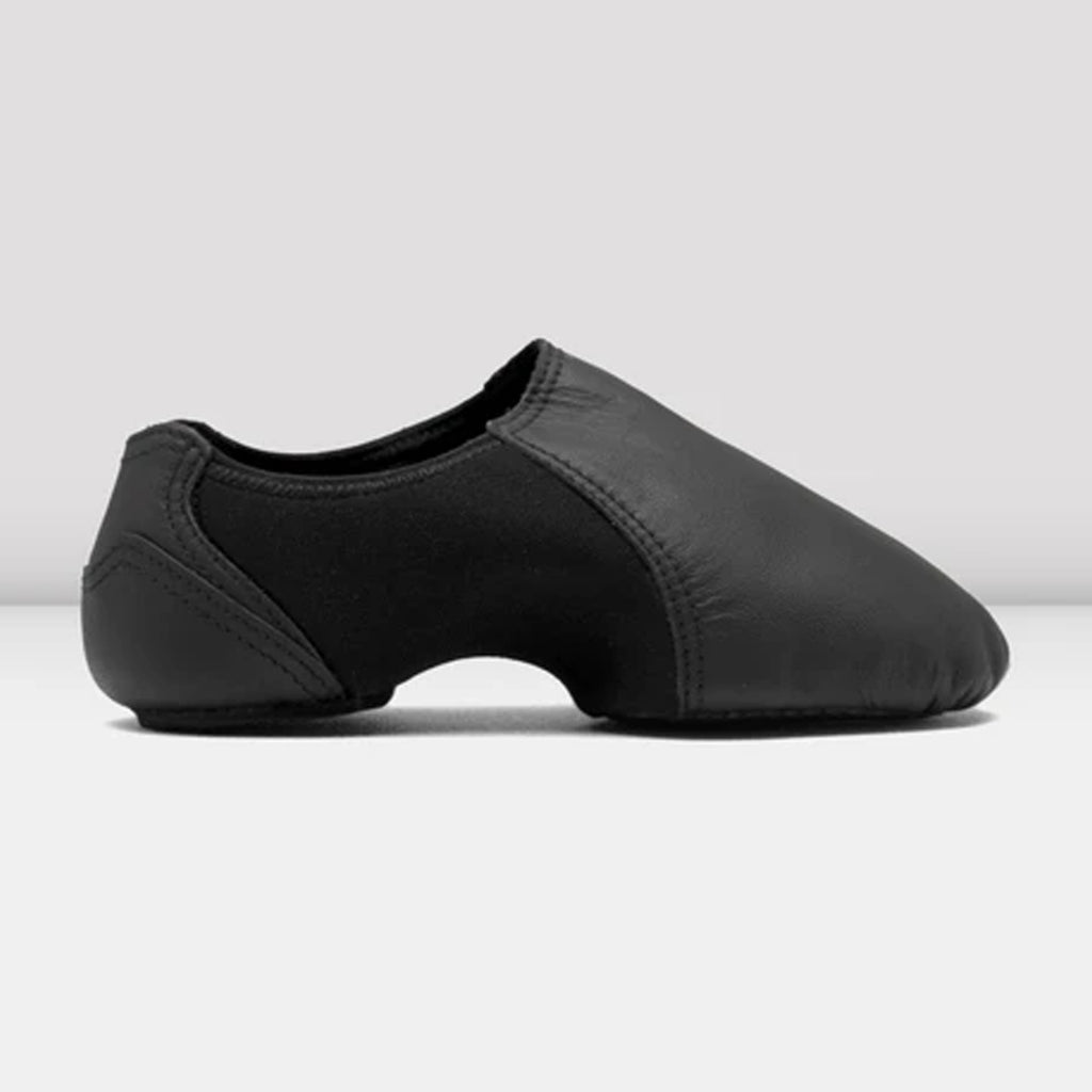 Bloch S0497G Girls Spark Slip-On Split Sole Jazz Shoe