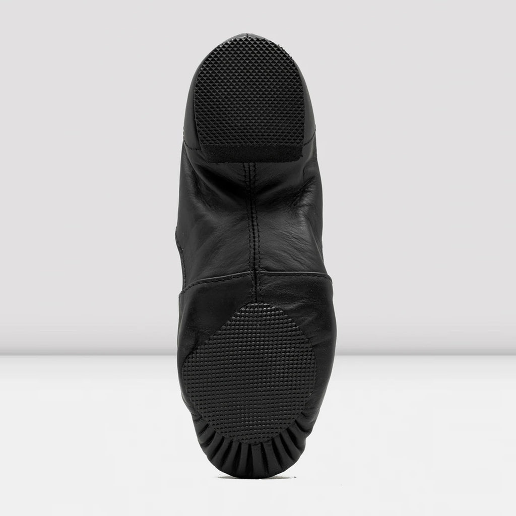 Bloch S0499M Men's Elasta Bootie Slip-On Jazz Boot