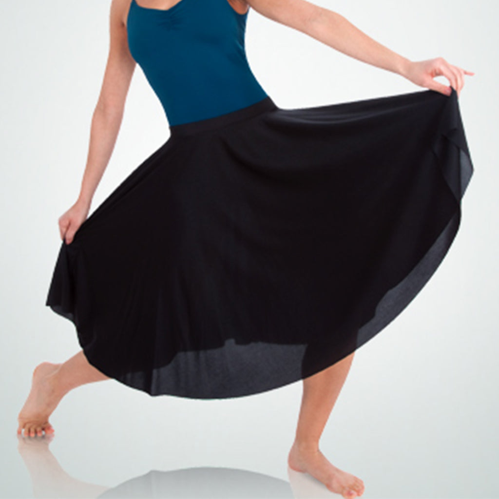 Body Wrappers 511 Womens Character Dance Below The Knee Circle Skirt
