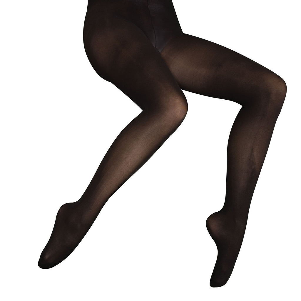 Body Wrappers C30 Child totalSTRETCH Soft Supplex/Lycra Footed Tights - 3 Pack