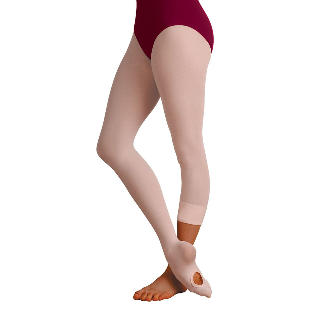 Body Wrappers C31 Child totalSTRETCH Soft Supplex/Lycra ConvertibleTights - 3 Pack