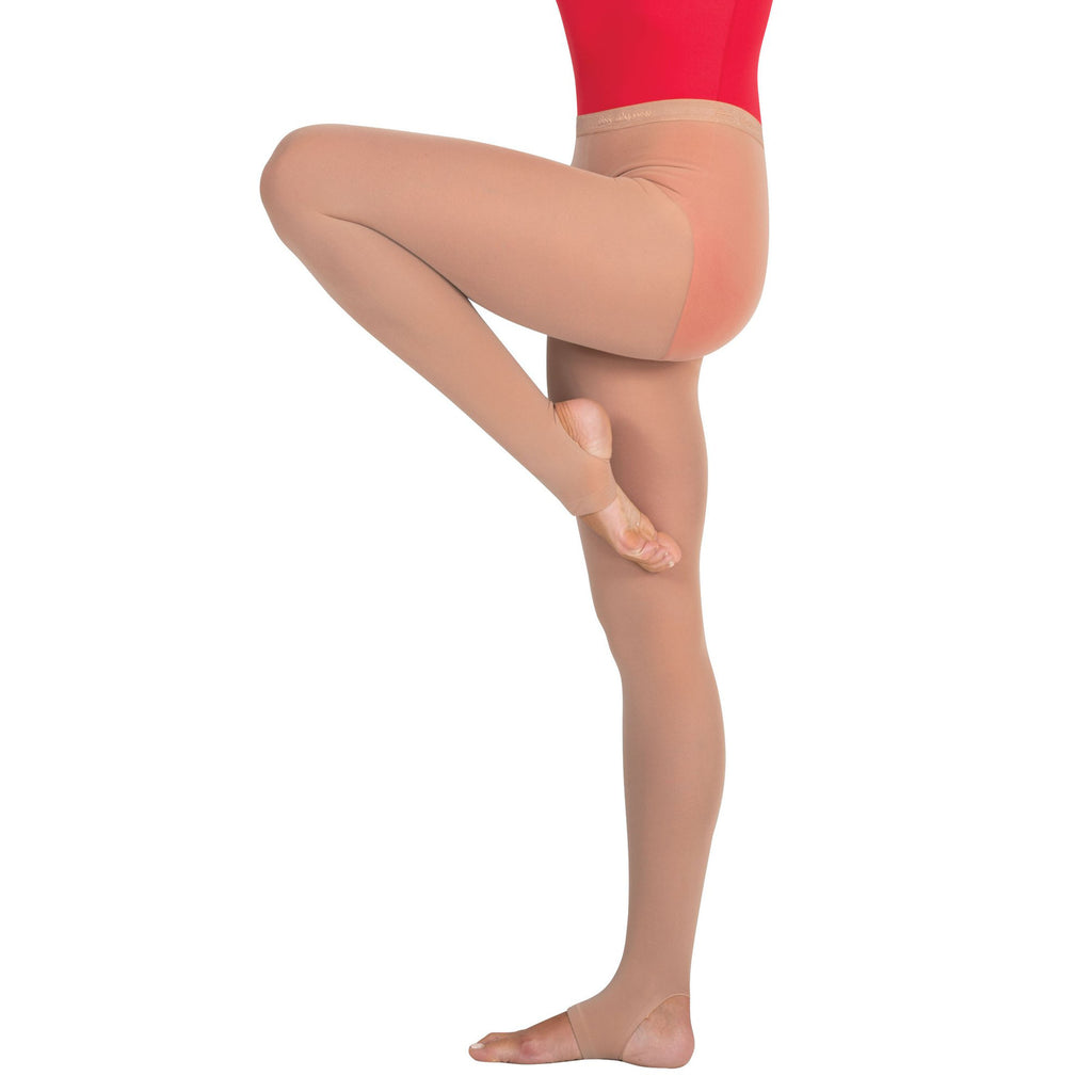 Body Wrappers C32 Child totalSTRETCH Soft Supplex/Lycra Stirrup Tights - 3 Pack