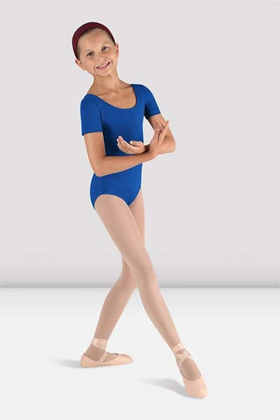 Bloch CL5402 Children's Short Sleeve Leotard