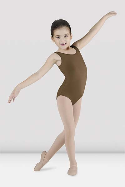 Bloch CL5605 Childs Essential Tank Leotard Almond color swatch