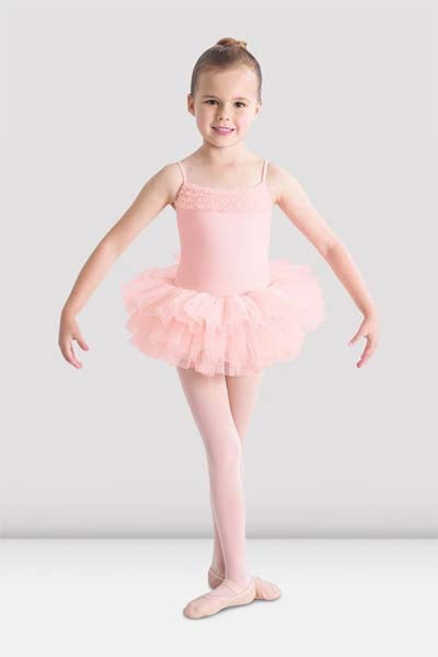 Bloch CL7120 Girls Tutu Dress Light pink color swatch