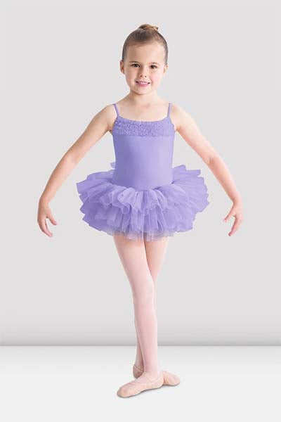 Bloch CL7120 Girls Tutu Dress Lilac color swatch