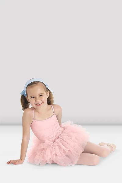 Bloch CL7127 Girls Glacier Camisole Tutu Dress Light Pink