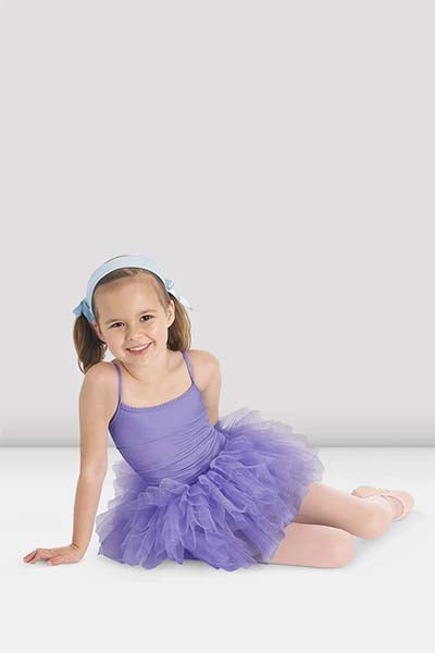 Bloch CL7127 Girls Glacier Camisole Tutu Dress Lilac