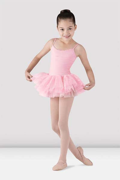 Bloch CL7207 Girls Milani Tutu Dress pink