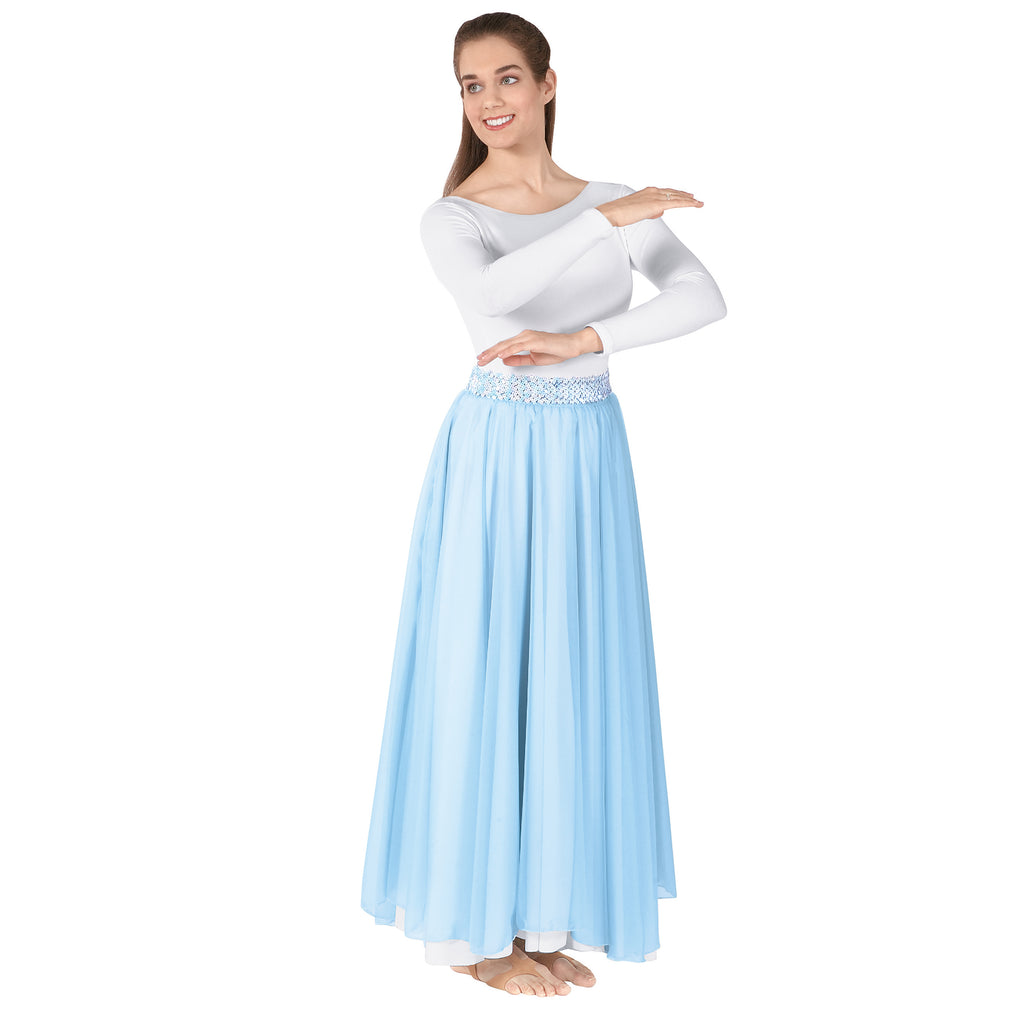 Eurotard 39746 Adult Chiffon Single Overlay Skirt