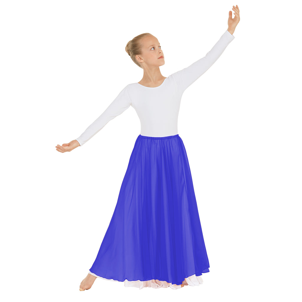 Eurotard 39746c Child Chiffon Single Overlay Skirt