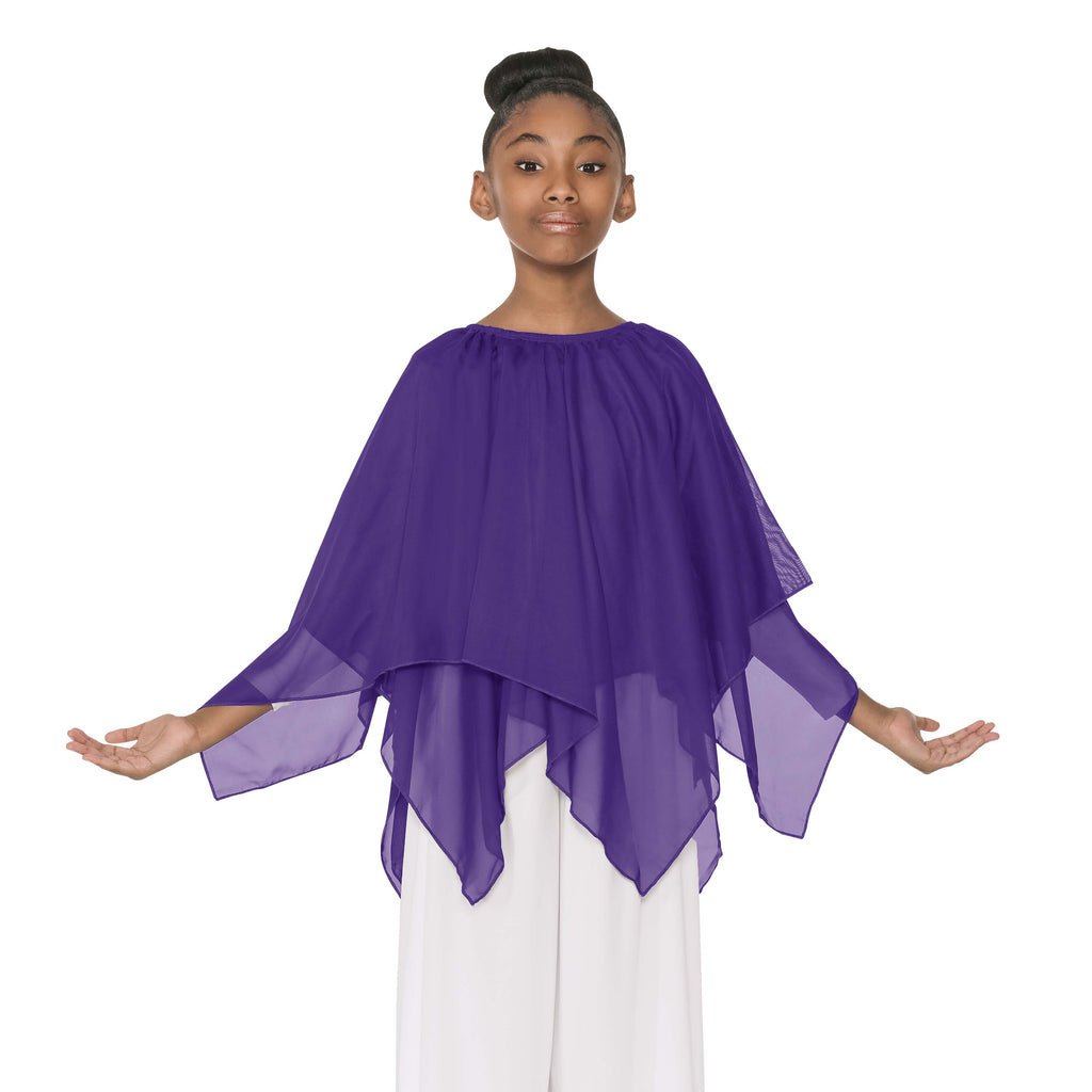 Eurotard 39769c Child Chiffon Double Handkerchief Skirt
