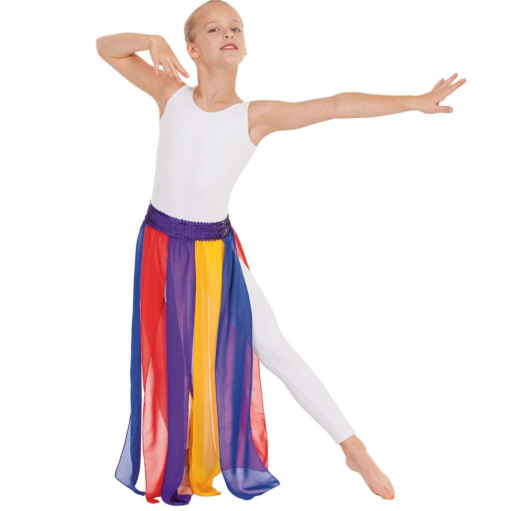 Eurotard 39808c Multi-Color Streamer Skirt