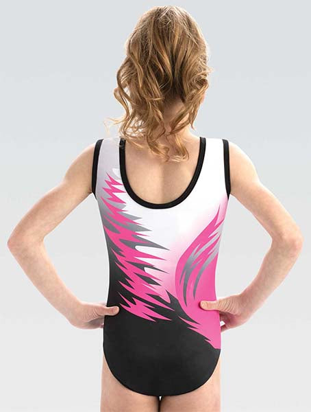 GK Elite 10511 GK GK Hi-Fi Tank Leotard back swatch