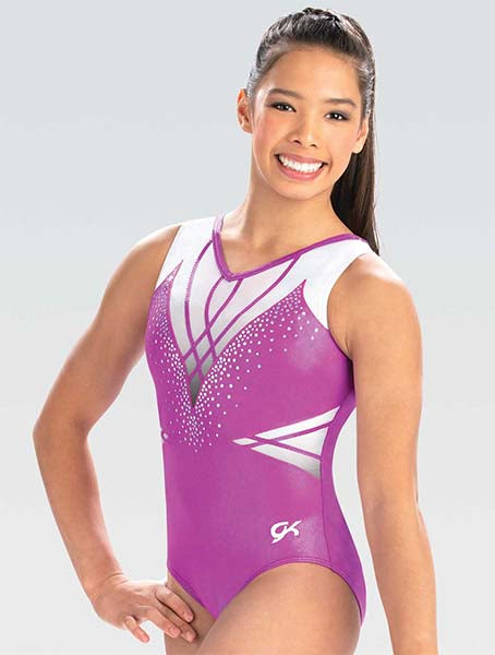 gk elite 10515 gk rising wave tank leotard center