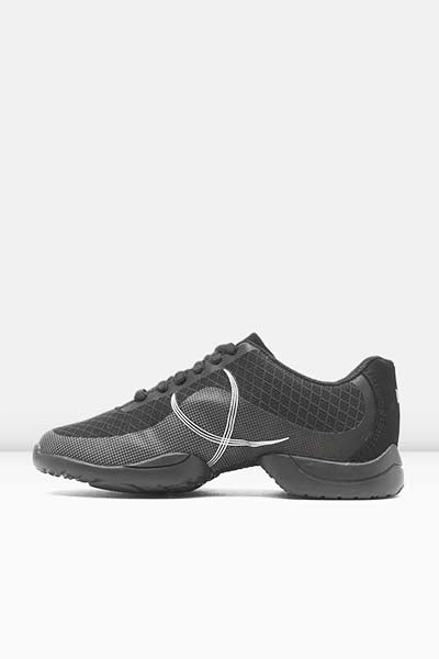 Bloch S0598L Ladies Troupe Dance Sneaker black color swatch