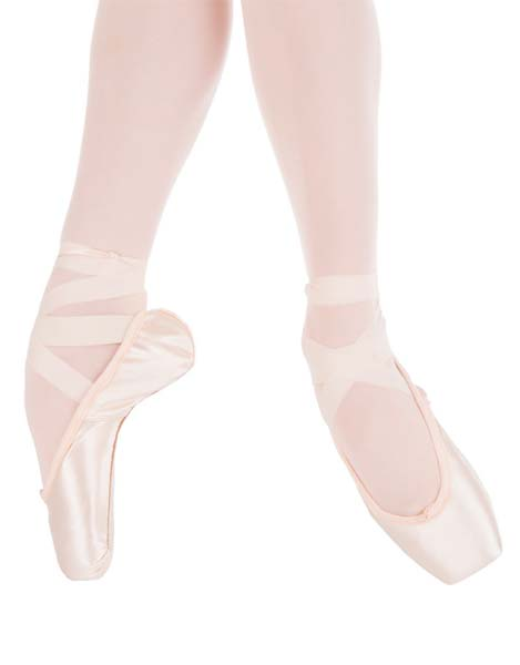 Suffolk Silhouette Pink Standard Pointe Shoe