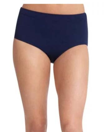 Capezio TB111 Adult's Team Basics Nylon Brief - 6 Colors