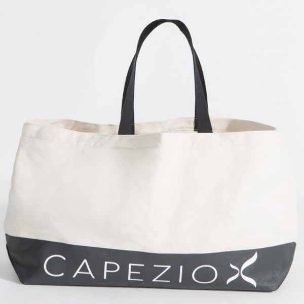capezio b201w large canvas tote bag