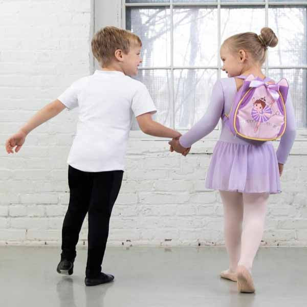 capezio b208 sugar plum backpack kids