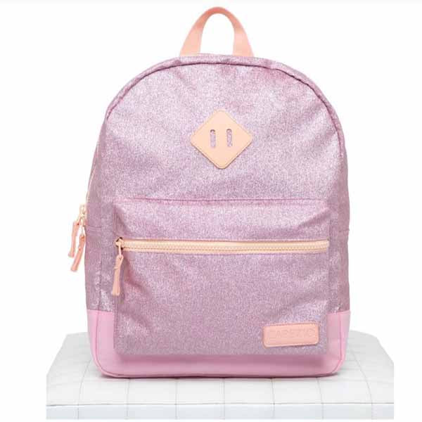 capezio b212 shimmer backpack pink