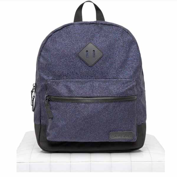 capezio b212 shimmer backpack purple multi