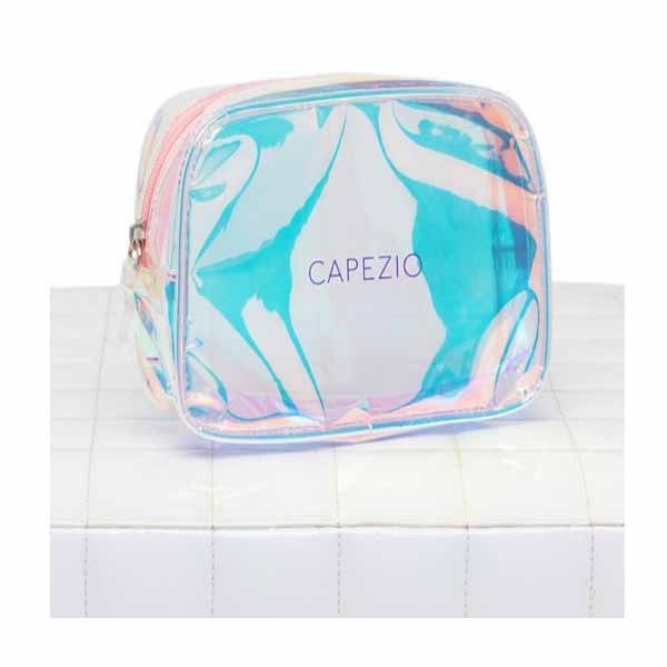 capezio b226 holographic make-up bag