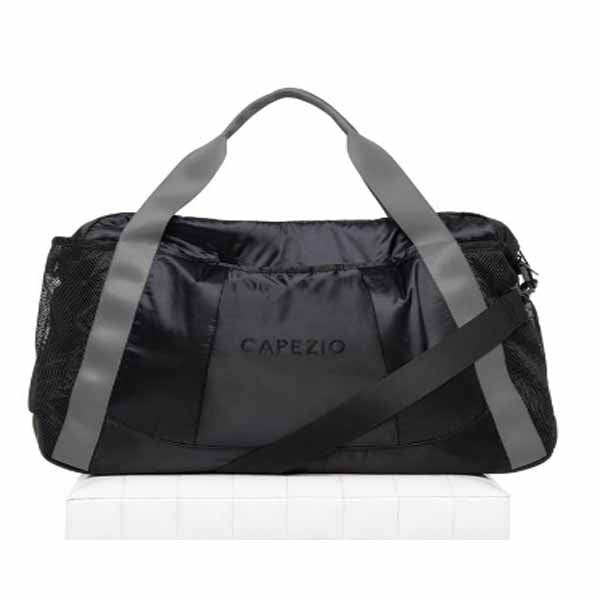 capezio b230 motivational duffle black/gray