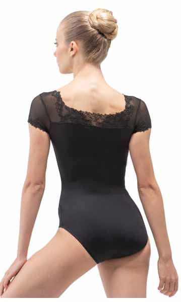 ballet rosa aurora fashion leotard noir back