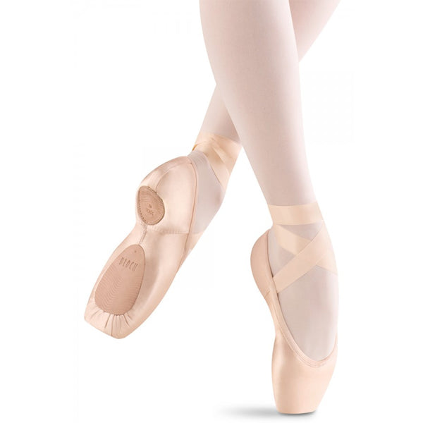 bloch heritage strong pointe shoe bottom view