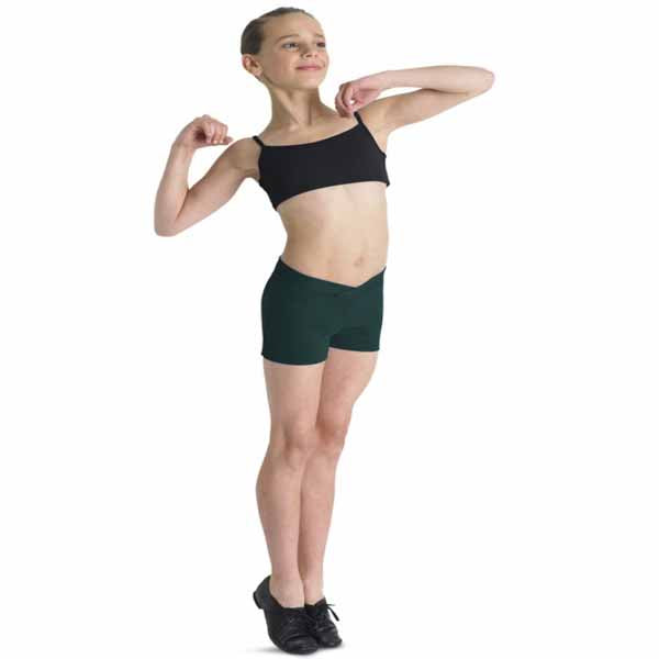 bloch r1984 girls derine basic short forest