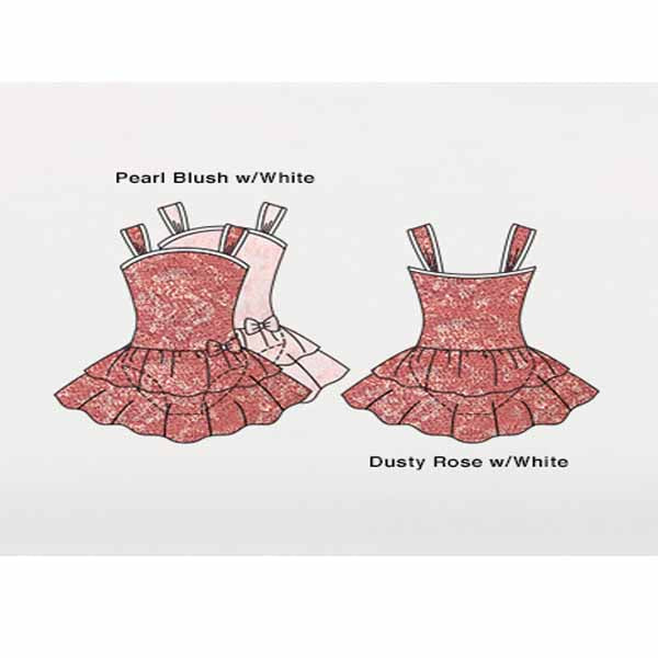 body wrappers 2193 girls mesh flower dance dress color chart