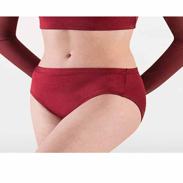body wrappers 4408 girls satin brief center