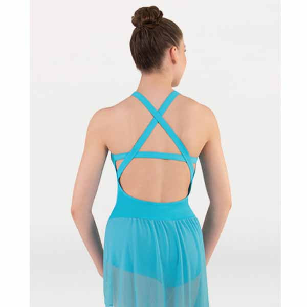 body wrappers bwp403 prowear dance dress back