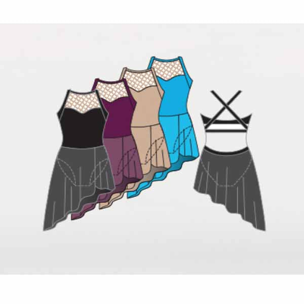 body wrappers bwp303 girls prowear dance dress color chart