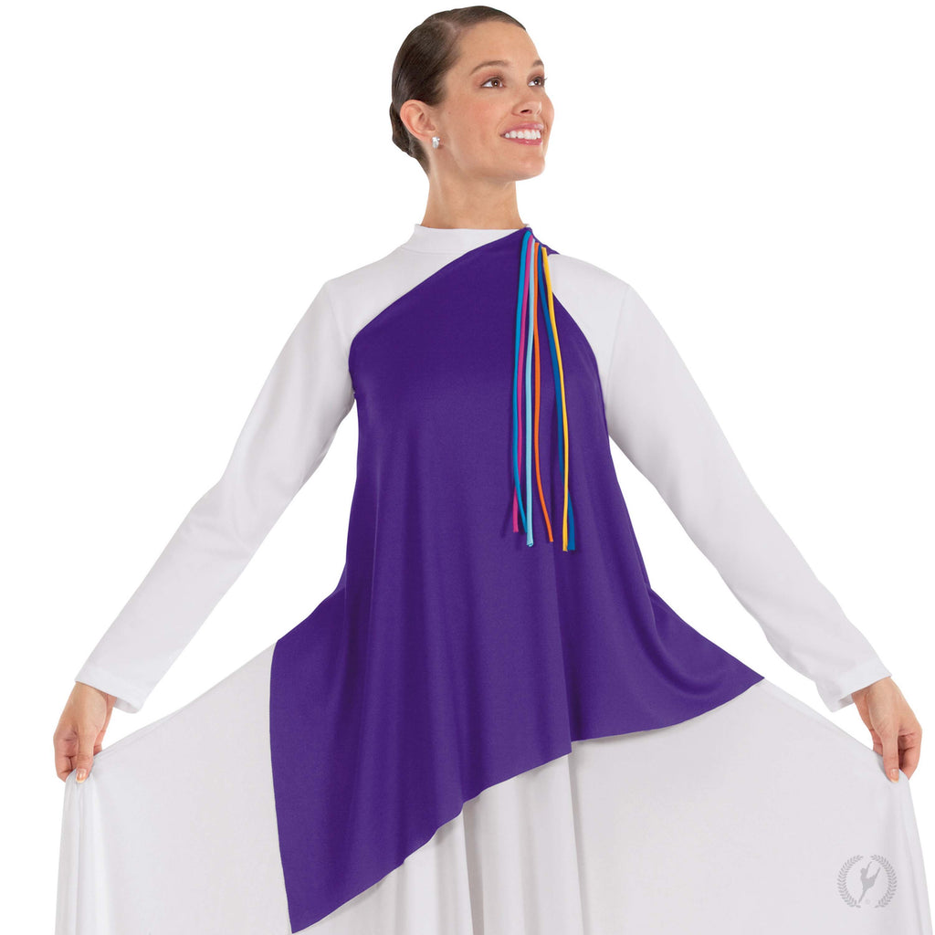 Quiet Prayer Streamer Tunic - Eurotard 13844