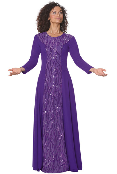 eurotard 82119 passion of faith dress purple