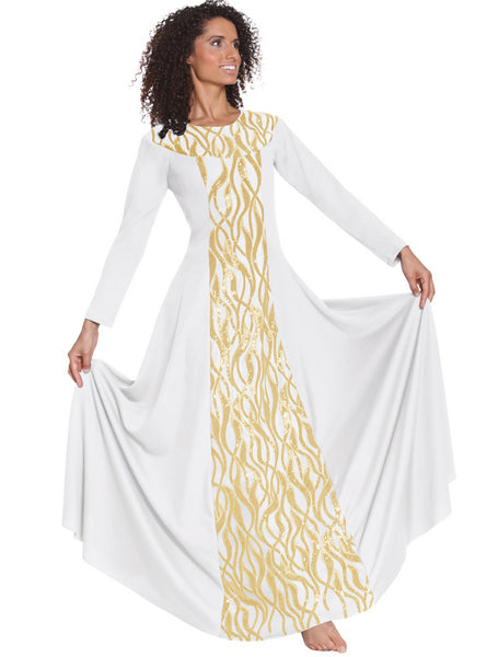 eurotard 82119 passion of faith dress white