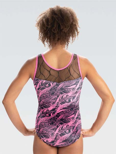 gk e4080 velvet fever tank leotard back side