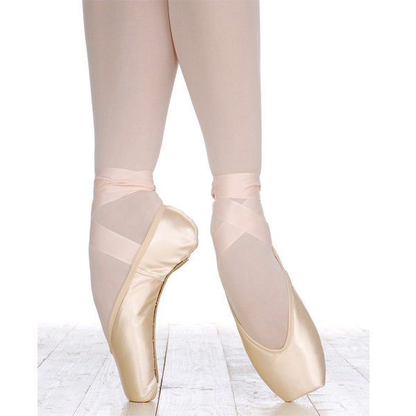 grishko elite pointe shoe swatch