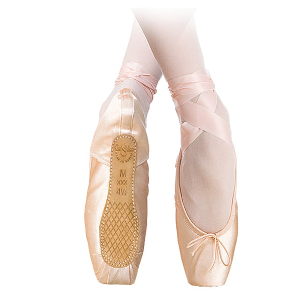 ghrishko nova pointe shoe bottom side view